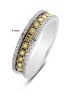 Diamond Point Caviar Ring in 14K Weißgold