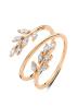 Diamond Point Roségouden ring 0.47 ct diamant Prestige