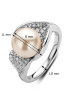 Diamond Point Witgouden ring, 0.56 ct diamant, Beauties of the Sea