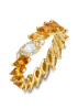 Diamond Point Colors ring in 14 karat yellow gold