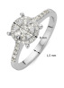 Diamond Point Witgouden ring 0.47 ct diamant Enchanted