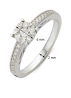 Diamond Point Witgouden ring, 0.32 ct diamant, Enchanted