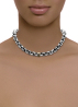 Diamond Point Nine2five necklace in sterling silver