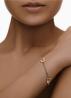Diamond Point Roségouden armband Infinity