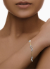 Diamond Point Gouden armband Infinity