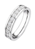 Diamond Point Witgouden ring, 0.77 ct diamant, Wedding