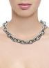 Diamond Point Nine2Five zilveren collier (M)