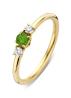 Diamond Point Jolie ring in 18 karat yellow gold