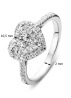 Diamond Point Witgouden ring, 0.60 ct diamant, Enchanted