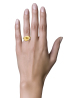Diamond Point Geelgouden ring 0.13 ct diamant Marigold