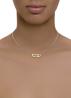 Diamond Point Timeless Treasures Halskette in 14K Weiß-, Gelb-, und Roségold