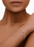 Diamond Point Marigold bracelet in 14 karat white gold
