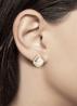 Diamond Point Rhapsody earrings in 14 karat yellow gold