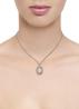 Diamond Point Prestige pendant in 14 karat white gold