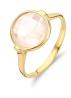 Diamond Point Earth ring in 14 karat yellow gold