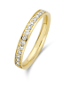 Diamond Point Geelgouden ring 0.27 ct diamant Wedding