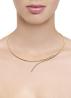 Diamond Point La dolce vita necklace in 18 karat yellow and whitegold