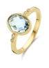 Diamond Point Geelgouden ring 2.40 ct topaas Philosophy