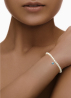 Diamond Point Armband in 18K Weißgold