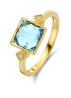 Diamond Point Geelgouden ring, 2.55 ct topaas, Philosophy