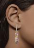 Diamond Point Prestige earrings in 18 karat white gold