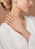 Diamond Point Wedding ring in 14 karat white gold